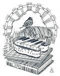 EX LIBRIS MUSICIS HANNE BUNZL-FEDERN (odkaz v elektronickém katalogu)