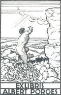 EXLIBRIS ALBERT PORGES (odkaz v elektronickém katalogu)