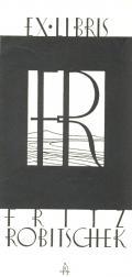 ET LIBRIS FRITZ ROBITSCHEK (odkaz v elektronickém katalogu)