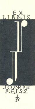 EX LIBRIS JOSEPH REISS (odkaz v elektronickém katalogu)