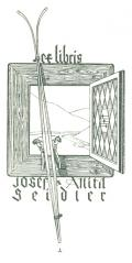 ex libris Josef a Anita Seidler (odkaz v elektronickém katalogu)