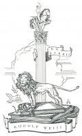 EX LIBRIS RUDOLF WEISS (odkaz v elektronickém katalogu)