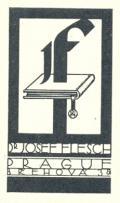 Dr. JOSEF FLESCH PRAGUE BŘEHOVÁ 38 (odkaz v elektronickém katalogu)
