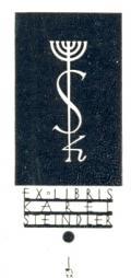 EX LIBRIS KAREL STEINDLER (odkaz v elektronickém katalogu)