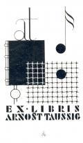 EX LIBRIS ARNOŠT TAUSSIG (odkaz v elektronickém katalogu)