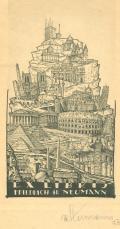 EX LIBRIS FRIEDRICH H. NEUMANN (odkaz v elektronickém katalogu)