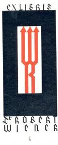 EX LIBRIS Dr. ROBERT WIENER (odkaz v elektronickém katalogu)