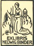EXLIBRIS HEDWIG BINDER (odkaz v elektronickém katalogu)