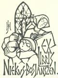 EX LIBRIS NIEKUS BOS JANSZEN (odkaz v elektronickém katalogu)