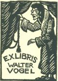EXLIBRIS WALTER VOGEL (odkaz v elektronickém katalogu)