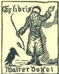 Ex libris Walter Vogel (odkaz v elektronickém katalogu)