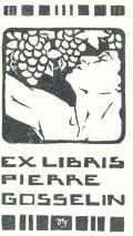 EX LIBRIS PIERRE GOSSELIN (odkaz v elektronickém katalogu)