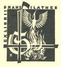 EX LIBRIS FRANZ SLATNER (odkaz v elektronickém katalogu)