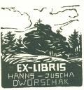 EX-LIBRIS HANNS-JUSCHA DWORSCHAK (odkaz v elektronickém katalogu)