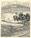 EX LIBRIS PAUL MAYER (odkaz v elektronickém katalogu)
