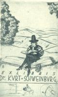 EXLIBRIS Dr. KURT SCHWEINBURG (odkaz v elektronickém katalogu)