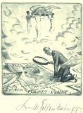 Exlibris JOHANNES KRAUSE (odkaz v elektronickém katalogu)