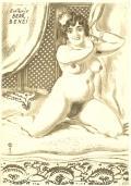 Exlibris BEDŘ. BENEŠ (odkaz v elektronickém katalogu)