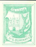 exlibris Dr. G. BURCHARD (odkaz v elektronickém katalogu)