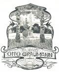 ExLIBRIS OTTO GRAUMANN (odkaz v elektronickém katalogu)