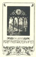 EX LIBRIS ADLRT HEINRICHSHOFEN (odkaz v elektronickém katalogu)