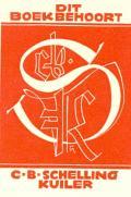 DIT BOEK BEHHORT C.B.SCHELLING KUILER (odkaz v elektronickém katalogu)