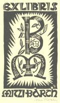 EXLIBRIS MITZI BARTH (odkaz v elektronickém katalogu)