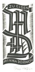 ZU EIGEN MINNA DORNICH (odkaz v elektronickém katalogu)