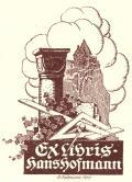 Ex libris Hans Hofmann (odkaz v elektronickém katalogu)