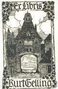 Ex libris Kurt Gelling (odkaz v elektronickém katalogu)