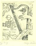 Hermine Weinek Ex libris (odkaz v elektronickém katalogu)