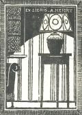 EX LIBRIS A. HERRY (odkaz v elektronickém katalogu)
