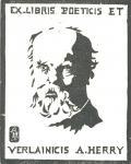 EX LIBRIS POETICIS ET VERLAINICIS A. HERRY (odkaz v elektronickém katalogu)