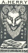 A. HERRY EXLIBRIS (odkaz v elektronickém katalogu)