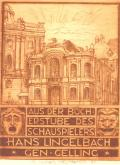 AUS DER BÜCH ERSTUBE DES SCHAUSPIELERS HANS LINGELBACH GEN.GELLING (odkaz v elektronickém katalogu)