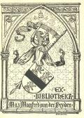 EX BIBLIOTHEKA Max Manfred von der Heyden (odkaz v elektronickém katalogu)