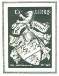 EX LIBRIS M.M.v.d.Heyden (odkaz v elektronickém katalogu)