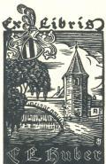 Ex Libris E.F.Huber (odkaz v elektronickém katalogu)