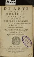 DE ARTE BENE MORIENDI LIBRI DVO  (odkaz v elektronickém katalogu)
