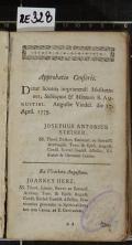 [Des heiligen Kirchenlehrers Aurelius Augustinus Bischoffs zu Hyppon Betrachtungen, einsame Gespräche, und Handbüchlein] (odkaz v elektronickém katalogu)