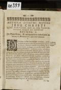 [AERUMNAE D.N. JESU CHRISTI]  (odkaz v elektronickém katalogu)