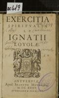 EXERCITIA SPIRITVALIA S.P. IGNATII LOYOLAE (odkaz v elektronickém katalogu)
