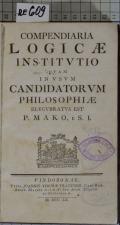 COMPENDIARIA LOGICAE INSTITVTIO  (odkaz v elektronickém katalogu)