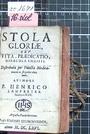 Stela Gloriae, Vita, Praedicatio, Miracula Christi Distributa per Puncta Meditationis in singulos died anni