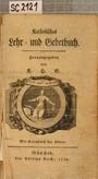 Katholisches Lehr- und Gebetbuch