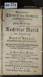 Marianischer Thomas von Kempen